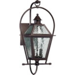 French Quarter Family 2-Light Oiled Bronze Outdoor Lantern 7919-2-86