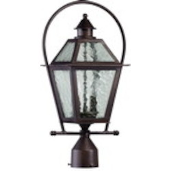 French Quarter Family 2-Light Oiled Bronze Outdoor Post Lantern 7921-2-86