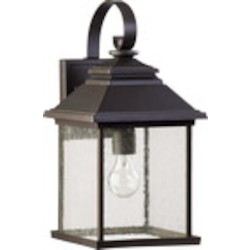 Pearson Family 1-Light Oiled Bronze Outdoor Wall Lantern 7940-9-86