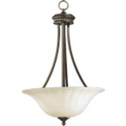 "Hathaway Family 3-Light 25"" Toasted Sienna Pendant 8105-3-44"