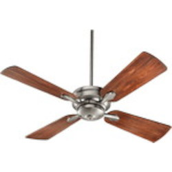 "Valor Family 52"" Satin Nickel Ceiling Fan 81524-65"