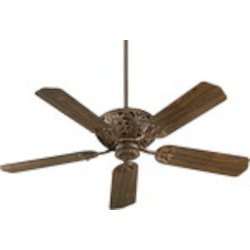 "Windsor Family 52"" Corsican Gold Ceiling Fan 85525-88"
