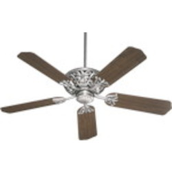 "Windsor Family 52"" Antique Silver Ceiling Fan 85525-92"