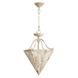 "Salento Series 3-Light 13"" Persian White Semi-Flush Mount or Pendant  2806-18-70"
