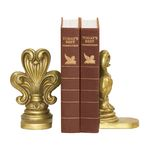Fleur De Lis Bookends (Set Of 2) 4-83064