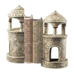 Turret Vintage Black Bookends 93-10066/S2