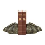 Deco Bunny Bookends (Set Of 2) 93-1159