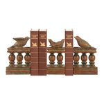 Bird And Bannister Bookends (Set Of 3) 93-8390