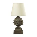 Stone Acorn Halifax Grey Mini Table Lamp 93-9190