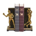 Vintage Touchdown Bookends (Set Of 2) 93-9508