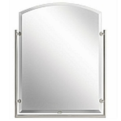 "Structures Collection Brushed Nickel Contemporary 30"" Mirror Kichler 41056NI"