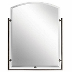 "Structures Collection Olde Bronze Contemporary 30"" Mirror Kichler 41056OZ"