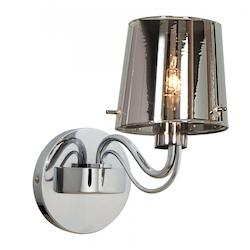 Access One Light Ch  Chr  Glass Wall Light - 55530-CH/CHR