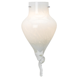 Genie Pendant Glass Shade White Glass Finish