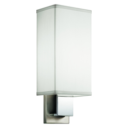 Kichler One Light Brushed Nickel & Chrome Wall Light - 10438NCH