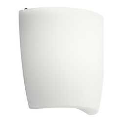 White Modern Single Light Ambient Lighting Fluorescent Wall Washer