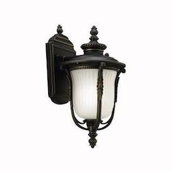 Kichler One Light Rubbed Bronze Wall Lantern - 11030RZ