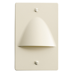 Almond Step and Hall Light 120v 4 Light Step Light