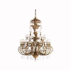 Ravenna Ravenna 3-Tier  Chandelier With 28 Lights - 72In. Chain Included - 71 Inches Wide