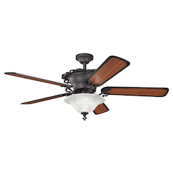Distressed Black 60in. Indoor Ceiling Fan  - 105719