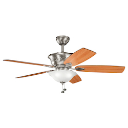 Kichler Three Light Antique Pewter Ceiling Fan - 300159AP