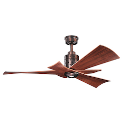 Kichler One Light Oil Brushed Bronze Ceiling Fan - 300163OBB