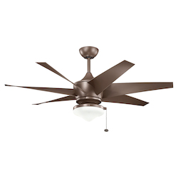 Coffee Mocha Ceiling Fan - 106025