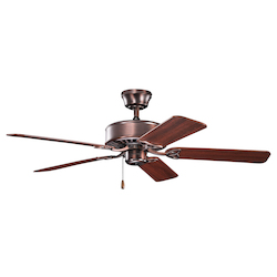 Kichler Oil Brushed Bronze Ceiling Fan - 330100OBB