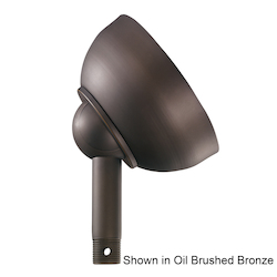 Kichler Tannery Bronze W/ Gold Accent Ceiling Adaptor - 337005TZ