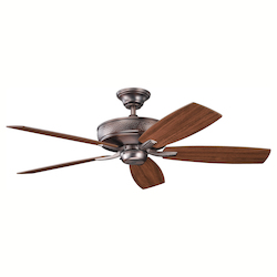 Oil Brushed Bronze Ceiling Fan - 106442