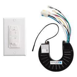 White Fan Wall Mount Control - 107135
