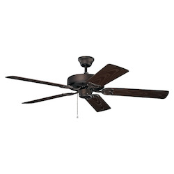 Satin Natural Bronze Ceiling Fan