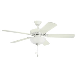 Kichler Satin Natural White Ceiling Fan - 403SNW