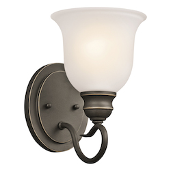 Kichler One Light Olde Bronze Wall Light - 45901OZ