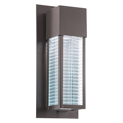 Architectural Bronze Sorel 16in. Energy Efficient LED Outdoor Wall Light