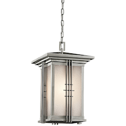 Kichler One Light Stainless Steel Hanging Lantern - 49161SS