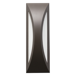 Architectural Bronze Cesya 18in. Energy Efficient LED Outdoor Wall Light