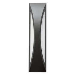 Twelve Light Satin Black Wall Light - 109936