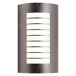 Architectural Bronze Newport 2 Light 9in. Wide ADA Compliant Outdoor Wall Sconce
