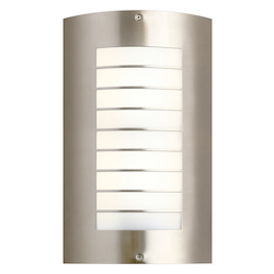 Two Light Brushed Nickel Wall Light - 110406