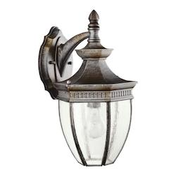 Tannery Bronze Warrington Collection 1 Light 16in. Outdoor Wall Light