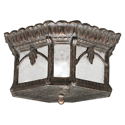 Kichler Two Light Londonderry Outdoor Flush Mount - 9854LD