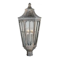 Beacon Hill Collection Sienna finish Outdoor Post Light - 40150CDSE