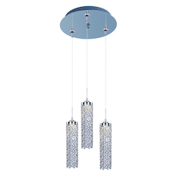 Shanell 3-Light Led Rapidjack Pendant And Canopy