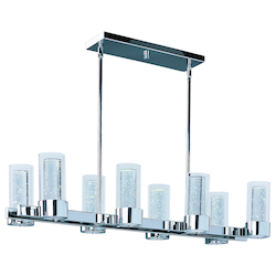Sync 8-Light Led Linear Chandelier