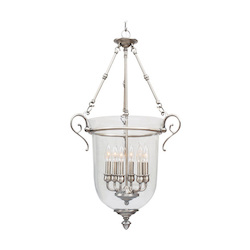 Brushed Nickel Foyer Hall Pendant