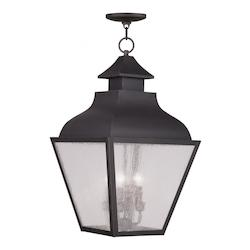 Bronze Vernon Outdoor Pendant With 4 Lights