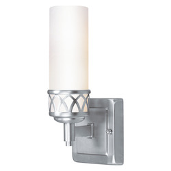 Brushed Nickel Westfield 1 Light ADA Bathroom Vanity Light