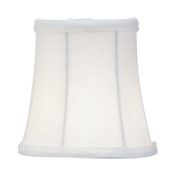 Ivory Bell Clip Shade Chandelier Shade with Ivory Bell Clip Shade from Chandelier Shade Series