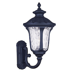 Black Oxford 18in. Height 1 Light Outdoor Wall Sconce